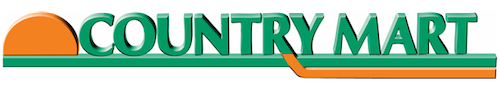 A theme logo of Country Mart